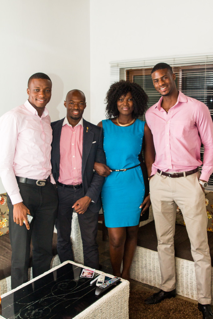 Ghana Team along side Anita Erskine - Founder of ReverbGH